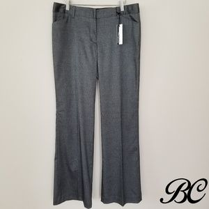 NWT Express Design Studio Editor Pants Gray Work